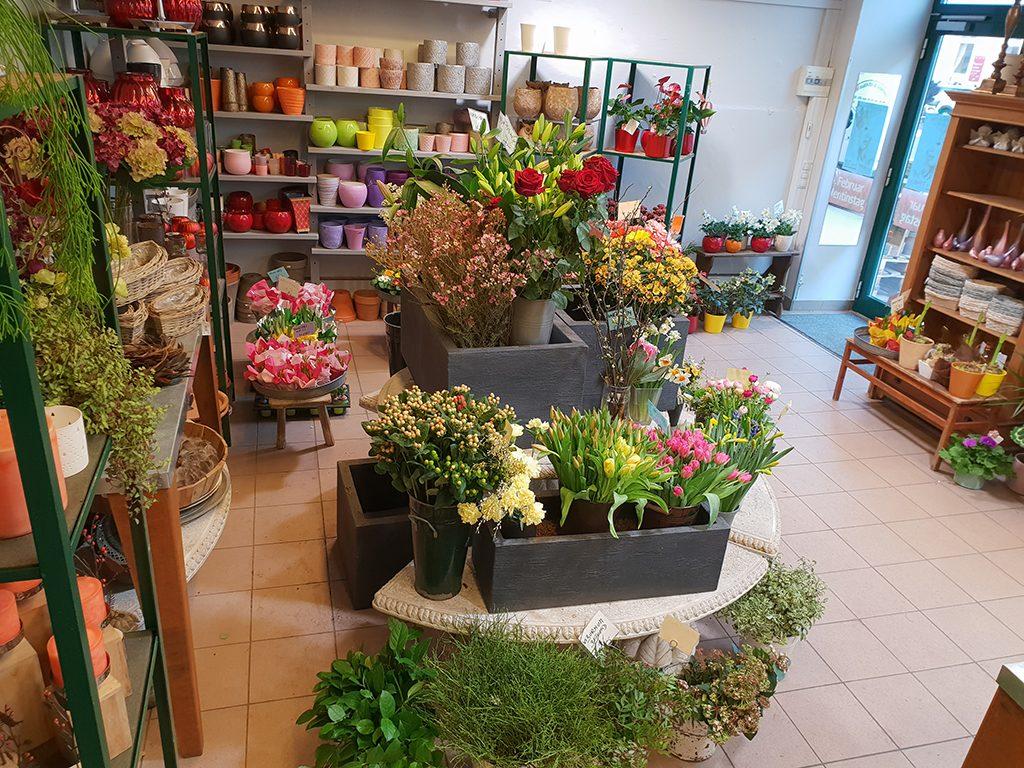 Blumenstube Rath Geschäftslokal
